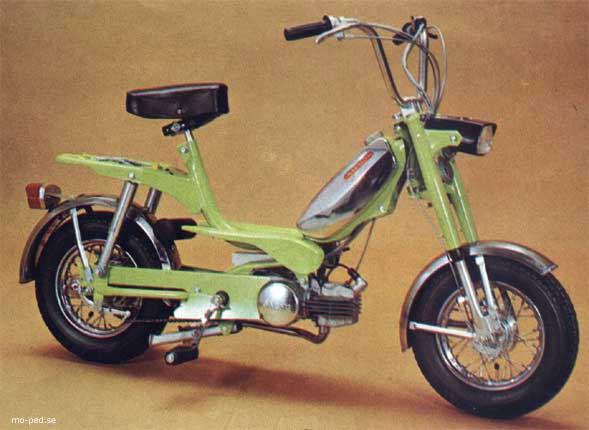 Jb Ma on Morini Moped Gyromat