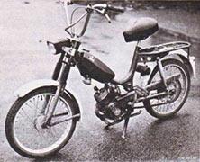Mcb Ez on Morini Moped Gyromat